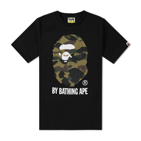 6d48ed6084bc A BATHING APE 1st Camo By Bathing Tee - Black  S  OZX TE M110015 8 BKM